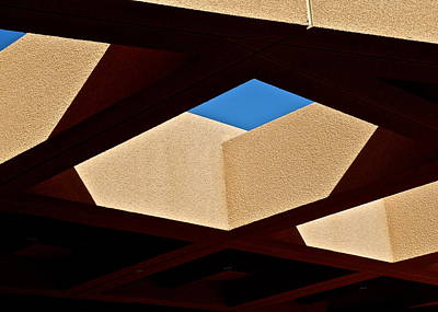Photograph - Architectural Roof Shapes  by Kirsten Giving