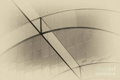 Photograph - Architecture Abstract by Charline Xia