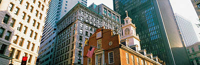 Architecture Boston Ma Usa Print by Panoramic Images