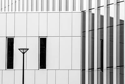 Photograph - Architecture - Building Detail by Ben Graham