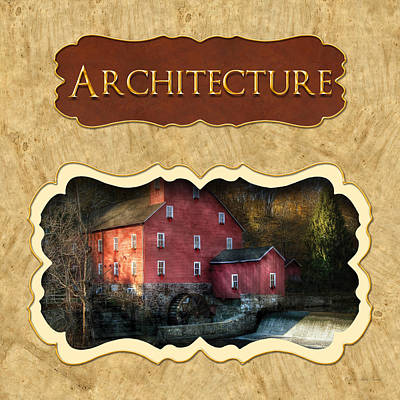 Photograph - Architecture Button by Mike Savad