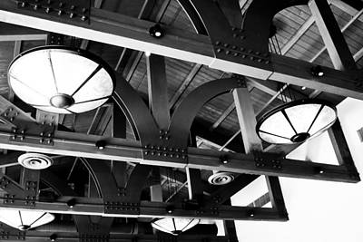 Photograph - Architecture - Ceiling Detail by Ben Graham