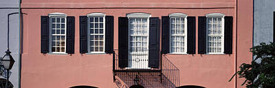 Architecture Charleston Sc Art Print by Panoramic Images