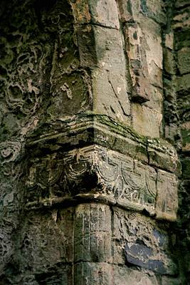 Photograph - Architecture Detail At Jerpoint Abbey by Nadalyn Larsen