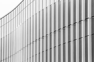 Photograph - Architecture Detail Black And White by Ben Graham