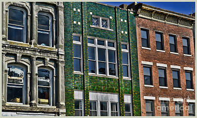 Photograph - Architecture - Early City Buildings - Luther Fine Art by Luther Fine Art