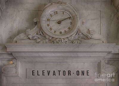 Photograph - Architecture - Elevator One by Liane Wright