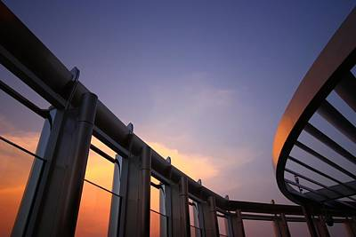 Gallery Photograph - Architecture In The Sky 2 by FireFlux Studios