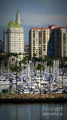 Photograph - Architecture Long Beach by Susan Garren