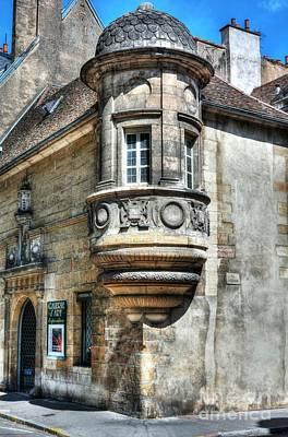 Architecture Of Dijon Art Print by Mel Steinhauer