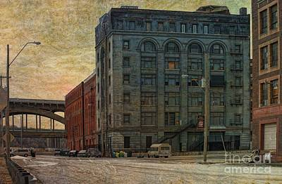Photograph - Architecture - Old Haunted Avery Manufacturing Company by Liane Wright