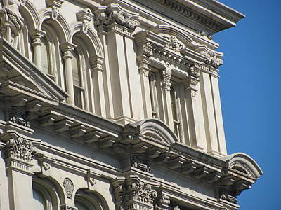 Photograph - Architecture Ornate Michell Close Up 3 by Anita Burgermeister