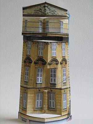 Architecture Reconstruction Print by Alfred Ng