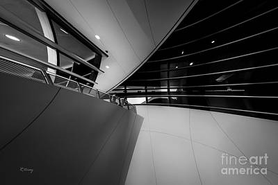 Photograph - Architecture Twist And Turns Of Marlins Park Stadium by Rene Triay Photography