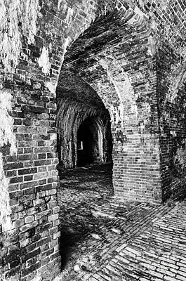 Photograph - Archway At Fort Morgan by Danny Hooks