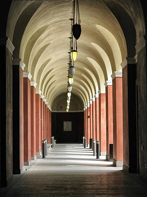 Photograph - Archway At The Getty Villa by Patricia Januszkiewicz