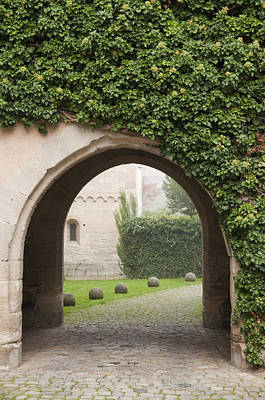 Tendrils Photograph - Archway Bebenhausen Abbey by Matthias Hauser