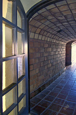 Photograph - Archway In Mission Inn Riverside by Ben and Raisa Gertsberg