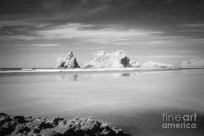 Photograph - Archway Islands Wharariki Beach by Colin and Linda McKie