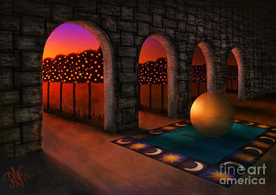 Archway Of Silence Art Print