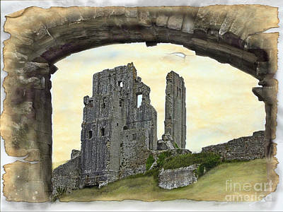 Archway To History Art Print