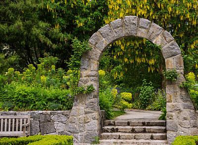 Photograph - Archway To The Secret Garden by Jordan Blackstone