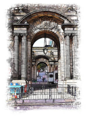 Photograph - Archways by Fiona Messenger