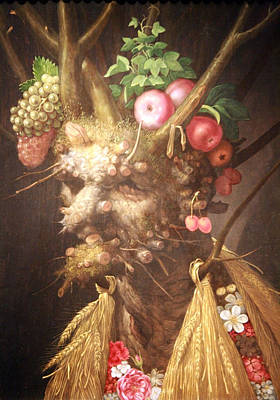 Photograph - Arcimboldo's Four Seasons In One Head by Cora Wandel