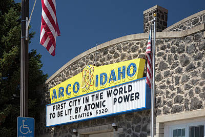 Arco Art Print by Jim West
