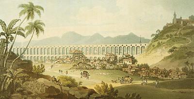Arcos De Carioco Art Print by William Alexander