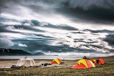 Camping Photograph - Arctic Camp by Paul Williams