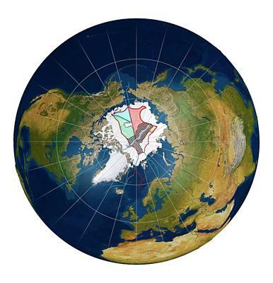 Arctic Land Claims Art Print by Mikkel Juul Jensen