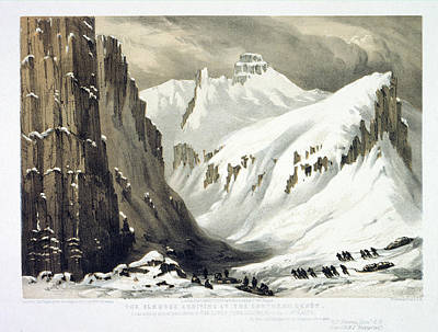 During Photograph - Arctic Landscape by British Library