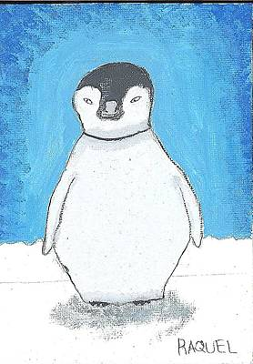 Arctic Penguin Art Print by Fred Hanna