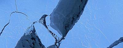 Mapping Photograph - Arctic Sea Ice by Digital Mapping System/nasa Ames