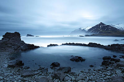 Royalty Free Images Photograph - Seascape Iceland by Ollie Taylor