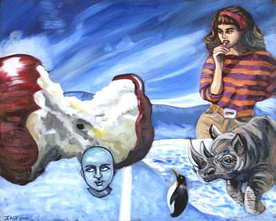 Arctic Soiree Art Print