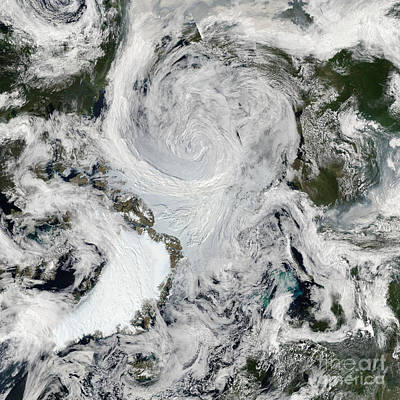 Photograph - Arctic Summer Storm 2012 by Science Source