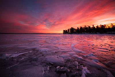 Arctic Sunrise Art Print by Robert Clifford
