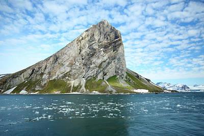 Bergy-bit Photograph - Arctic, Svalbard, Hornsund by Aliscia Young