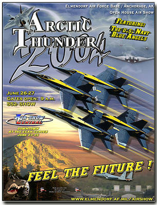 Arctic Air Photograph - Arctic Thunder Air Show 2004 by Mountain Dreams