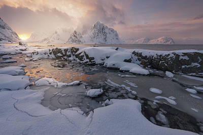 Norway Wall Art - Photograph - Arctic Winter by David Mart?n Cast?n