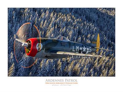 Photograph - Ardennes Patrol by Lyle Jansma