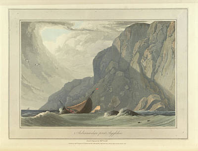 Richard Photograph - Ardnamurchan Point In Argyllshire by British Library