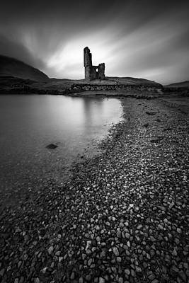 14th Century Photograph - Ardvreck Castle 2 by Dave Bowman