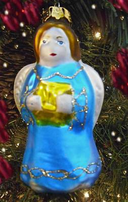 Photograph - Christmas Angel Ornament by Joan Reese