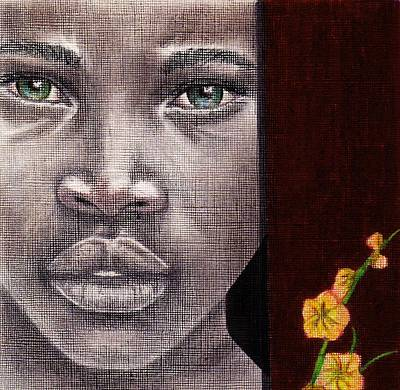 African-american Drawing - Are You Serious? by Edith Peterson-Watson