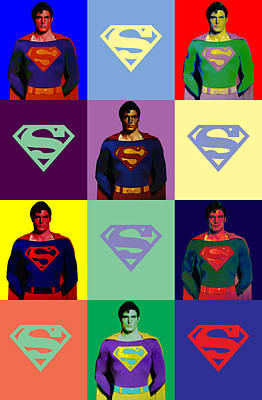 Digital Art - Are You Super? by Saad Hasnain