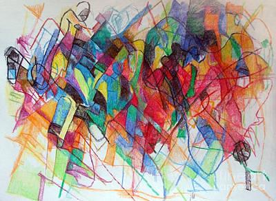 Creativity Drawing - Elul 2 by David Baruch Wolk