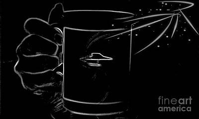 Ufo Photograph - Area 51 Coffee Break by Daryl Macintyre